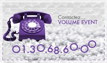Contactez VOLUME EVENT by DELEAGE
